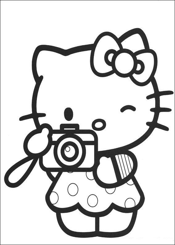 Boyama Sayfalari Hello Kitty Hareketli Resimleri Gifleri